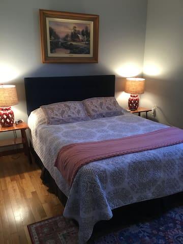 First-floor Queen bedroom