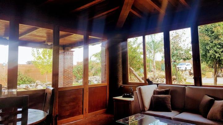 La casita de las bugambilias  jardines& petfriendl