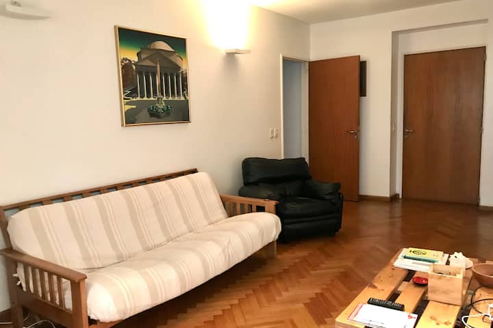Chic and bright flat in Recoleta