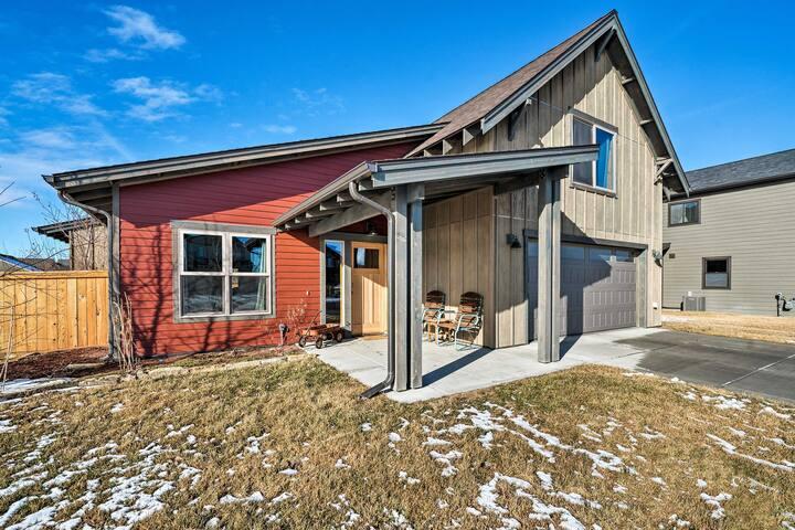 NEW! Spacious Bozeman Home: Ski, Hike, & Fish!