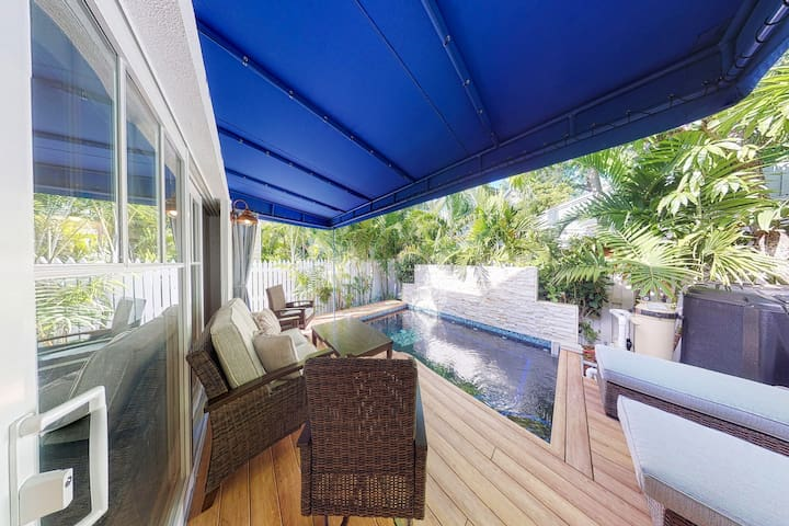 NEW LISTING! Newly-remodeled family home w/ a private, heated pool