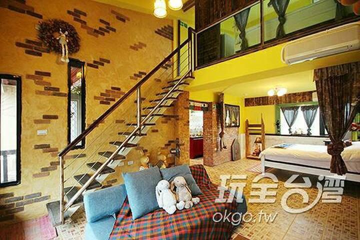 兔兔窩6人包棟渡假別墅 Rabbit's House Villa (for 6 adults) - Sanxing Township - Villa