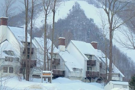 Trailside Condo - Ski In Ski Out & full amenities - Killington - Apartament