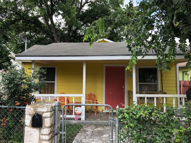 Little Yellow East Austin Casita