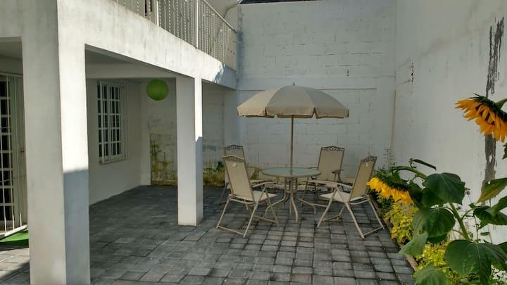 Habitación cómoda y con mucha tranquilidad