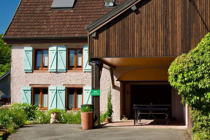Chez Dimanche, F2, gite de France CITY BREAK***