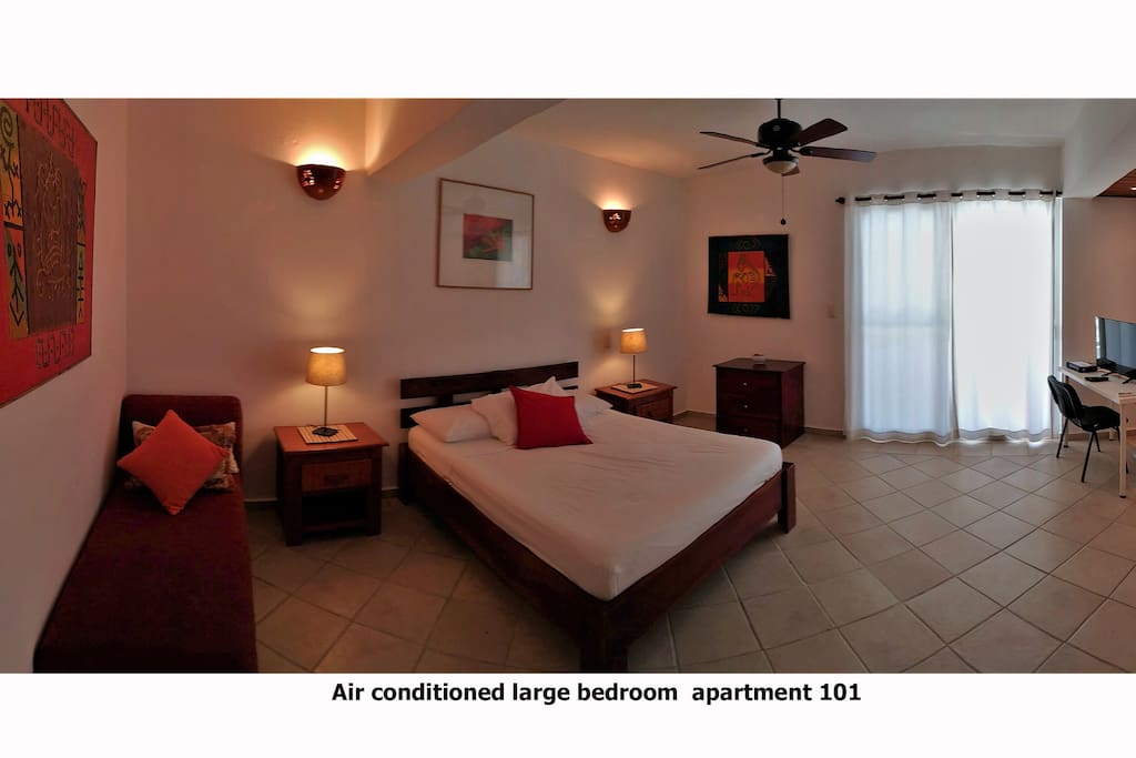 Large bedroom-with private bathroom