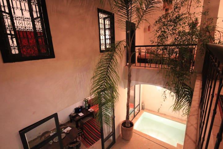 Belle chambre d'hôte Riad Penelope suite 2 personn