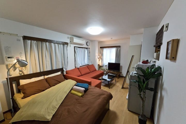 【NEW】Shinjuku 10mins! Relaxing room max 4ppl!