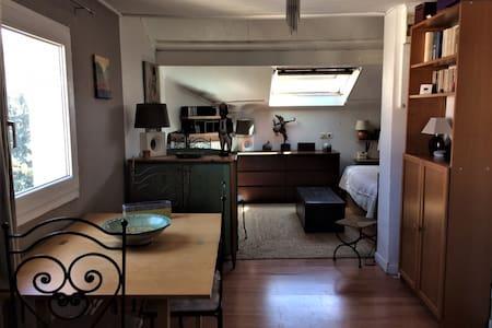 Studio de charme à la porte de Paris