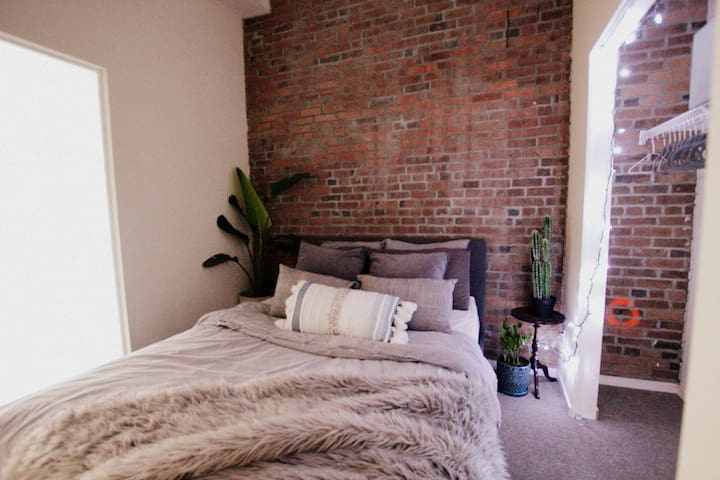 Brick loft in Gastown