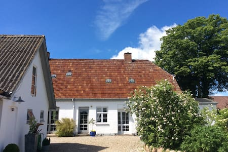 Old village school - flat with garden 4-6 persons