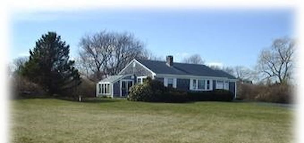 Cute Cottage Ocean View & big yard - Little Compton - Talo