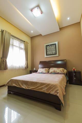 Main bedroom on the ground floor.