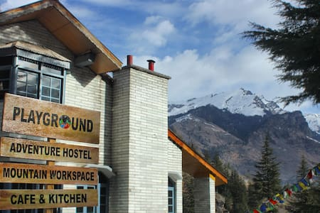 Mountain View Room in Playground Adventure Hostel