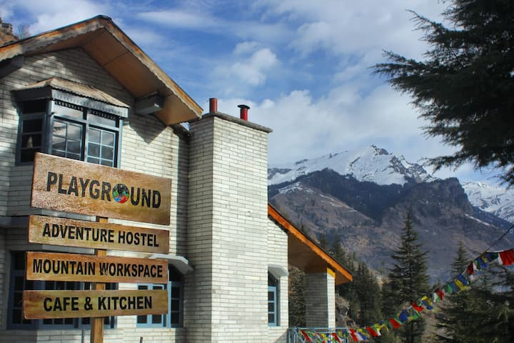 Mountain View Room in Playground Adventure Hostel