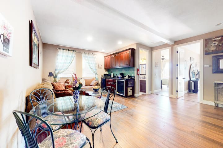 Lower-Level, Dog-Friendly Suite w/ Central A/C, Free WiFi, & Shared Pool Access