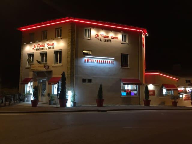 Hôtel Brasserie A.CAMUS  maison carree