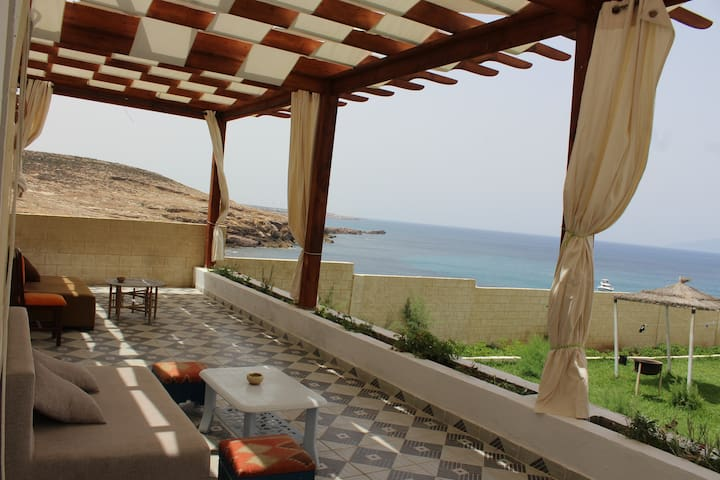 Chambres d'hôte pied dans l'eau (Hi Tunisia BNB )