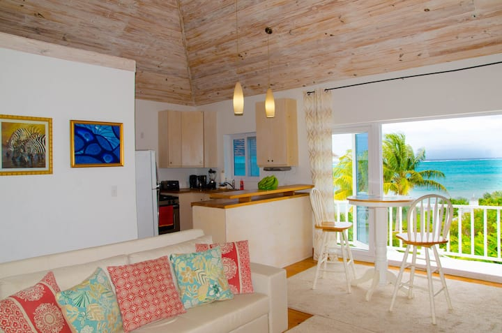 Ocean View Cottage at Orange Hill Beach white Sand