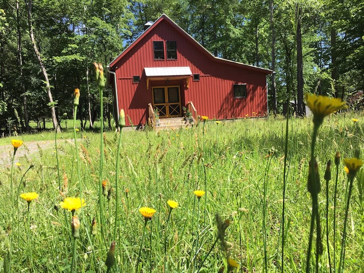 The Stable: a peace-filled, creative retreat