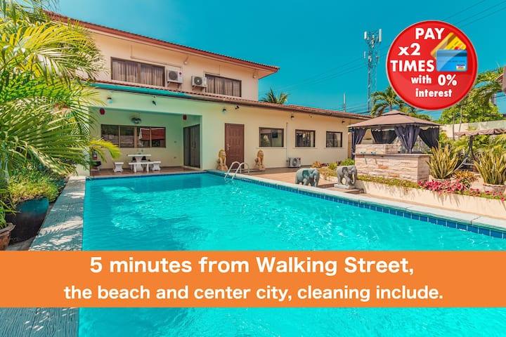 VIEWBOR VILLA - PATTAYA HOLIDAY HOUSE WALKG STREET