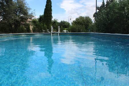 Villa en gestion libre avec piscine hors sol - RICHERENCHES - Talo