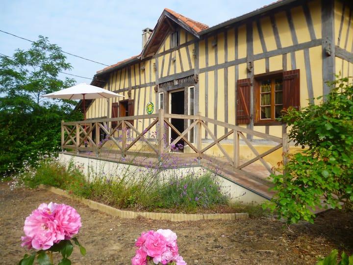 Gîte de France jardinier