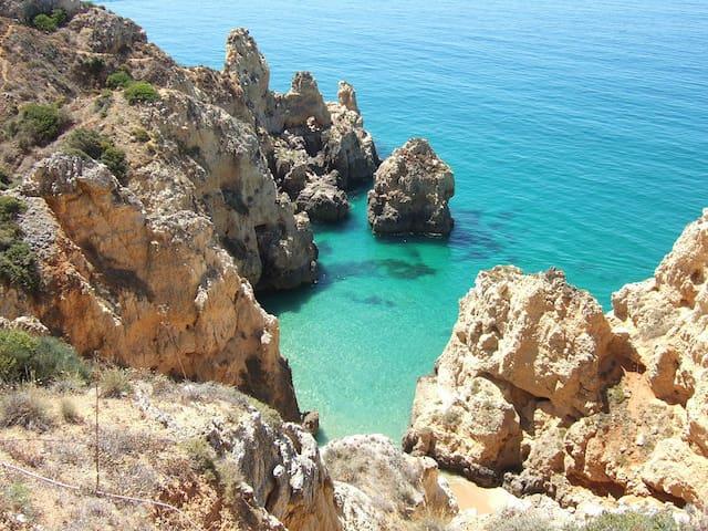 Praia da Rocha (A 5 min a pé da praia) - Portimão - Flat