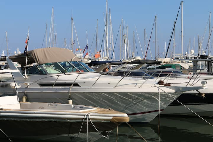 Wonderful Boat in Golfe Juan Vallauris