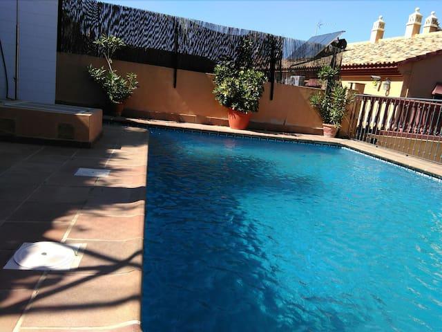 Encantadora casa piscina privada - Pinos de Alhaurín - Hus