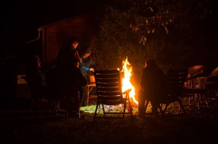 Gemütlich abends im Garten