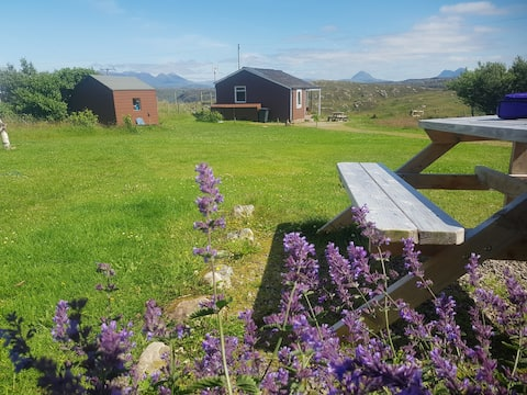 HAZEL @ Rustic Cabins nr Lochinver on NC500