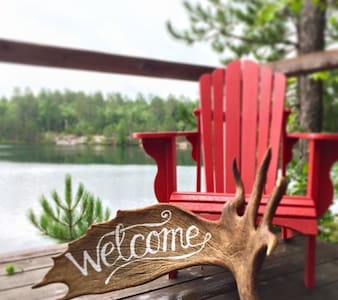 Lakefront Cottage - Sudbury - Blockhütte