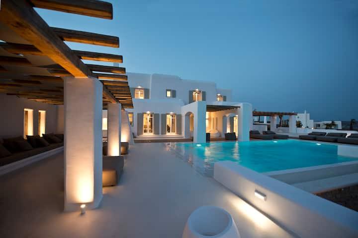 7 BDR Villa Zircon with Private Pool on Mykonos