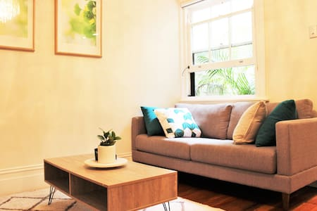 Contemporary apartment close to the city and train - Rushcutters Bay - Wohnung