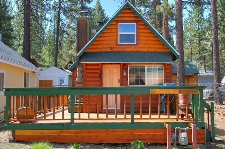 Beary Cool Cabin - Pet Friendly! - Big Bear Lake - Casa