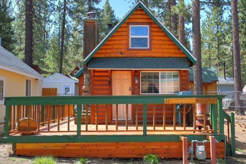 No cleaning fee beary cool cabin lwr mnrdge pets for Big bear 2 person cabin