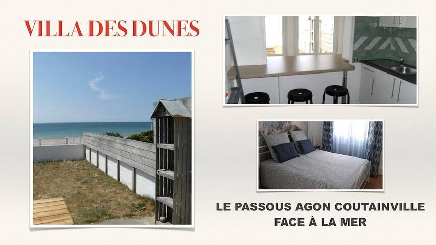 villa des dunes front de mer