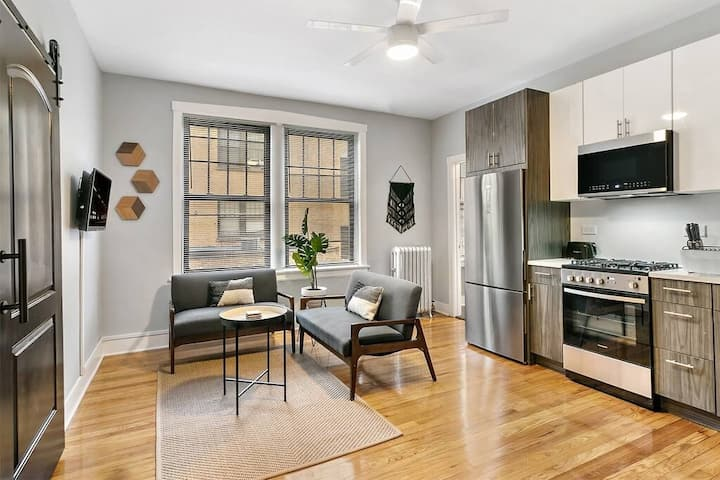 Comfy 1BR walk to Wellington 20min to Downtown