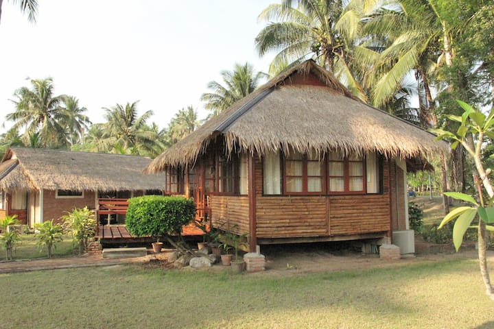 2-Bedroom Bungalows B4 @Suan Bankrut Beach Resort