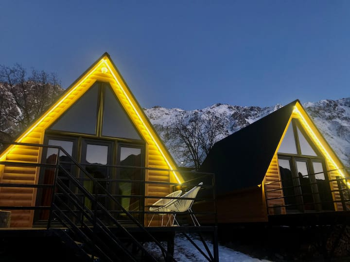 """Kuro Cottage"" in Kazbegi"