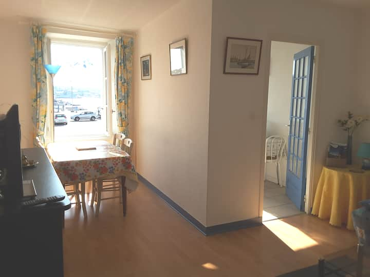 Appartement concarneau vue ville close.