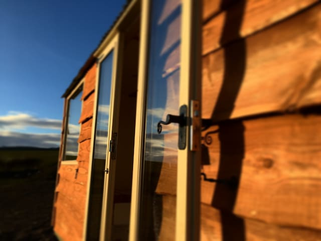Beautiful Shepherds Hut in the heart of Mid Wales.