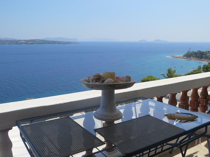 Beautiful 2 Storey House with Amazing Sea Views