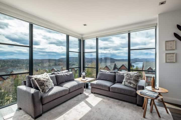 Panoramic Vistas and Elegant Chic