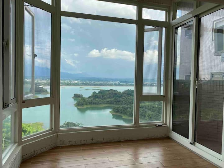 Best view in chiayi嘉義的日月潭阿里山前的世外桃源-