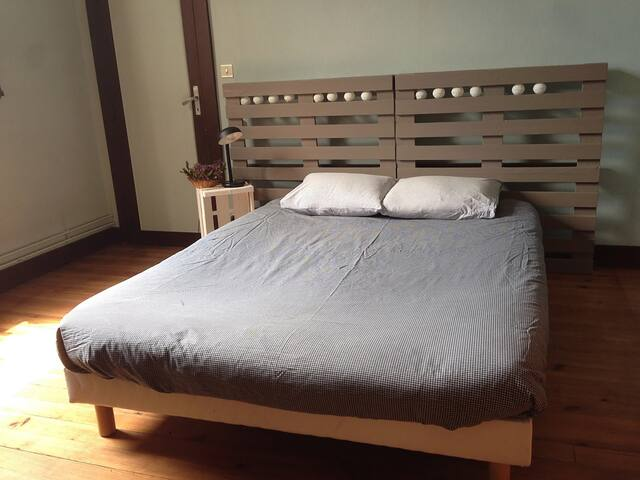 Bedroom w/ garden - City center - Capbreton