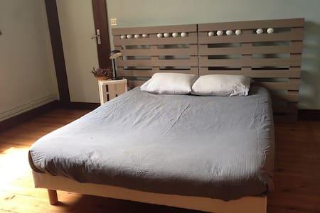 Bedroom w/ garden - City center - Capbreton - Ev