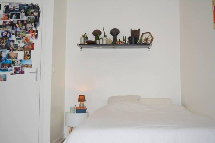 Belle chambre privée dans une maison calme